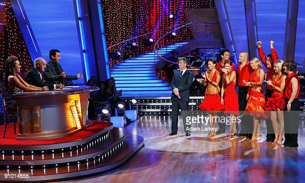 """An all new cast of celebrities hits the dance floor on Walt Disney Television via Getty Images's """"Dancing with the Stars"""" with the highly anticipated..."""