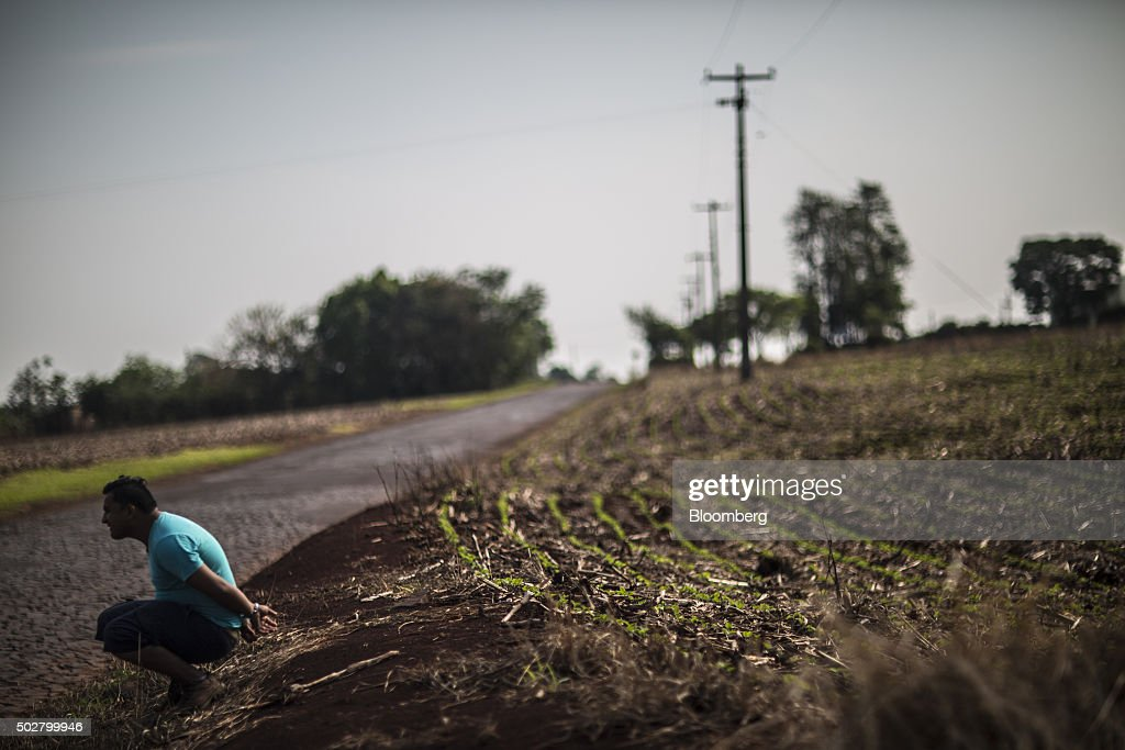 Tax Authorities Battle Smugglers On Paraguay Border : News Photo