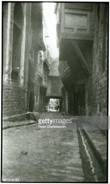 'An Alley' believed to be in Peshawar Background to this image With the threat of War looming in Europe Edward Fitzgerald Charlesworth volunteered to...