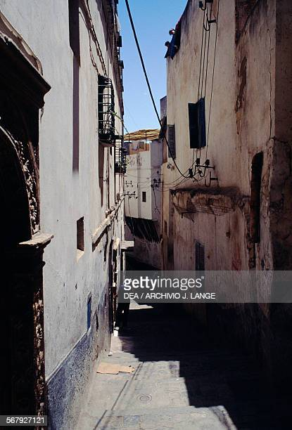 An alley in the Kasbah of Algiers Algeria