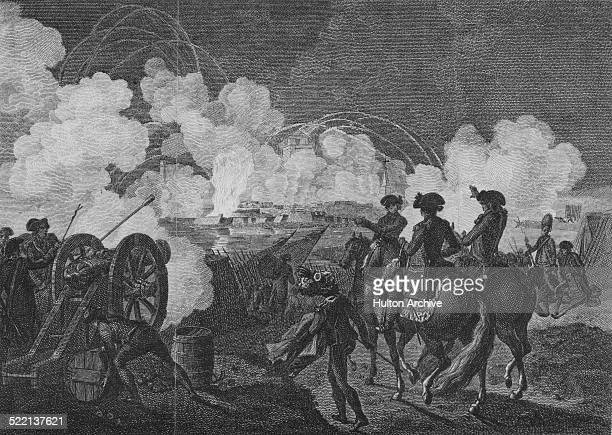 An Allied Austrian Hanoverian and British army under Prince Josias of SaxeCoburgSaalfeld and the Duke of York besiege the French Republican garrison...