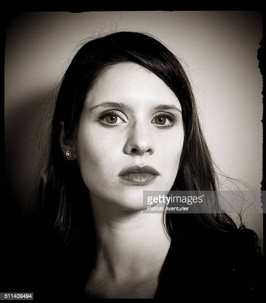 An alternative portrait of actress Daphne Patakia during the 66th Berlinale International Film Festival on February 13 2016 in Berlin Germany