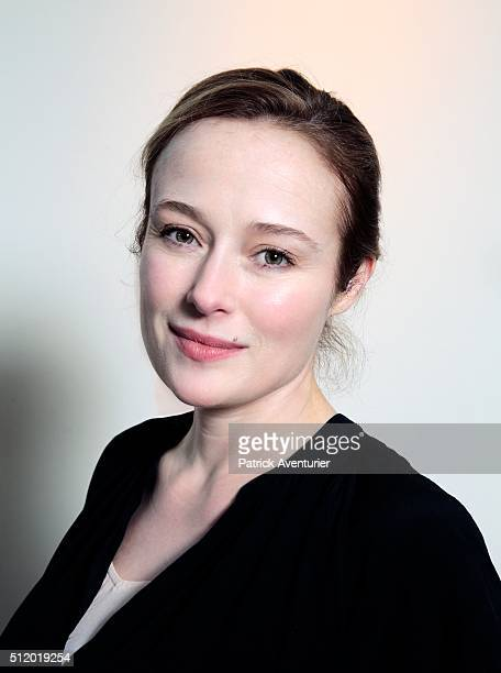 An alternative portrait of actress Jennifer Ehle during the 66th Berlinale International Film Festival on February 14 2016 in Berlin Germany