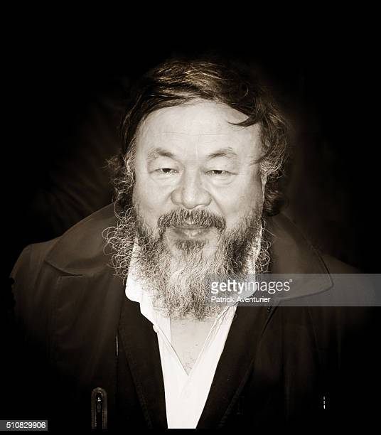 An alternative portrait of artist Ai Weiwei during the 66th Berlinale International Film Festival on February 11 2016 in Berlin Germany