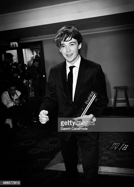 An Alternative View Alex Lawther attends the Jameson Empire Awards 2015 at Grosvenor House on March 29 2015 in London England