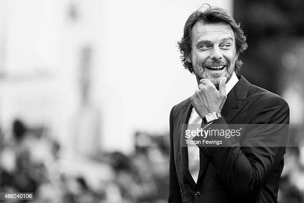 An alternative view as Alessandro Preziosi attends the opening ceremony and premiere of 'Everest' during the 72nd Venice Film Festival on September 2...