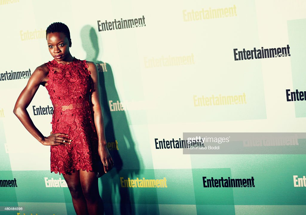 An Alternative View of actress Danai Gurira at The Entertainment Weekly Comic-Con party at Float at Hard Rock Hotel San Diego on July 11, 2015 in San Diego, California.