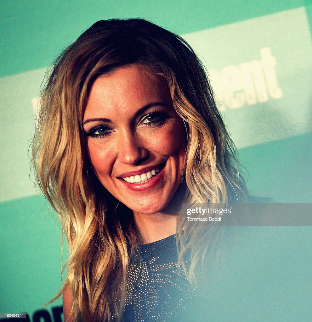 An Alternative View of actress Katie Cassidy at The Entertainment Weekly Comic-Con party at Float at Hard Rock Hotel San Diego on July 11, 2015 in San Diego, California.