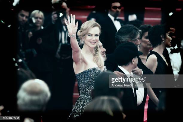 An alternative view of actress Nicole Kidman at the Opening ceremony and the 'Grace of Monaco' Premiere during the 67th Annual Cannes Film Festival...