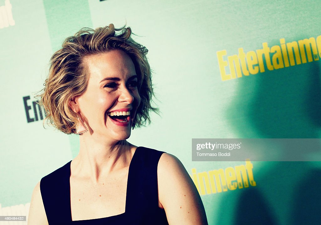 An Alternative View of actress Sarah Paulson at The Entertainment Weekly Comic-Con party at Float at Hard Rock Hotel San Diego on July 11, 2015 in San Diego, California.