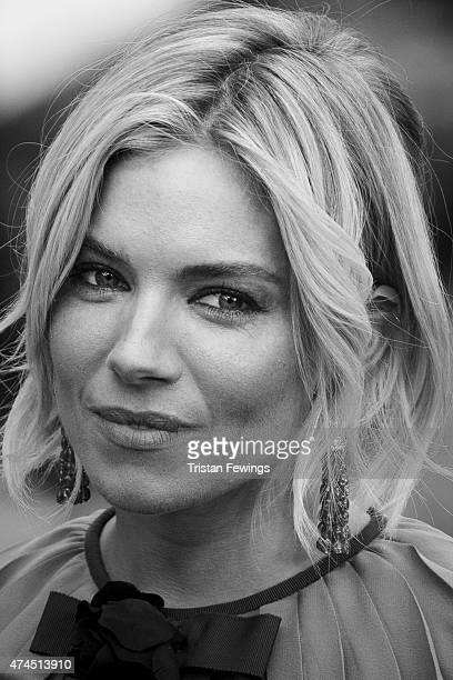 An alternative view of Actress Sienna Miller attending the Premiere of Macbeth during the 68th annual Cannes Film Festival on May 23 2015 in Cannes...