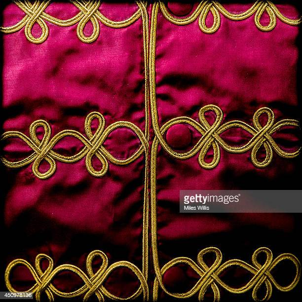 An alternative view of jockey silks during day four of Royal Ascot at Ascot Racecourse on June 20 2014 in Ascot England