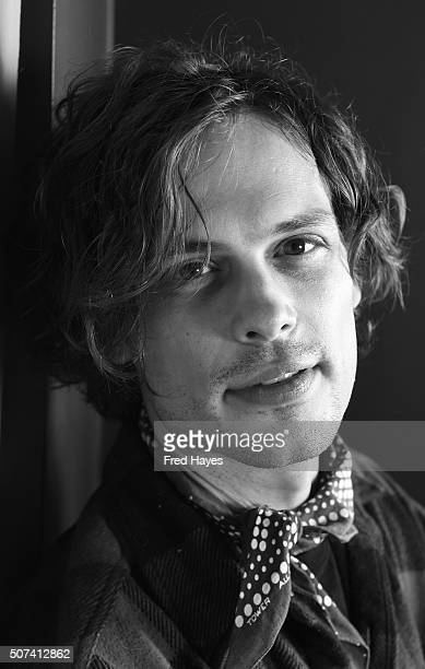 An alternative view of Matthew Gray Gubler at the SAG Ingie Brunch on January 24 2016 in Park City Utah