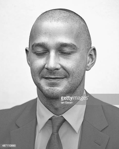 An alternative view of Shia LaBeouf during the 72nd Venice Film Festival on September 6 2015 in Venice Italy