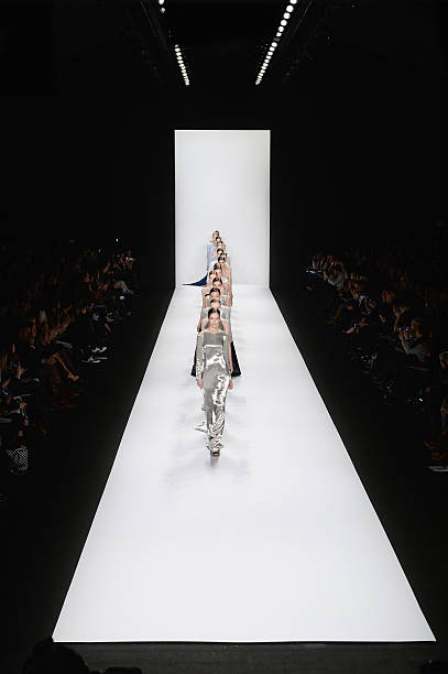 Runway Models in KaufmanFranco Fashion Show