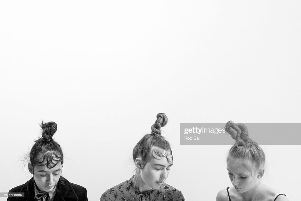 An alternative view of the RUN rehersals during London Fashion Week Spring/Summer collections 2017 on September 19, 2016 in London, United Kingdom.