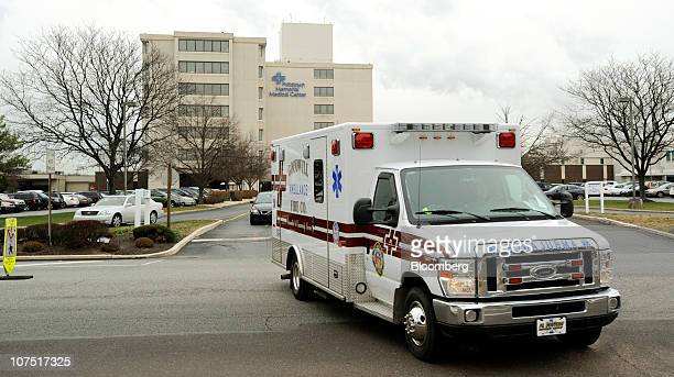 An ambulance leaves Community Health's Pottstown Memorial Hospital in Pottstown Pennsylvania US on Friday Dec 10 2010 Community Health Systems Inc's...