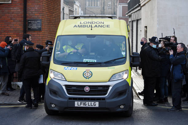 GBR: Prince Philip Departs King Edward VII's Hospital In London