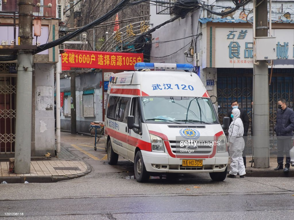 Coronavirus Pneumonia Outbreaks In China : News Photo