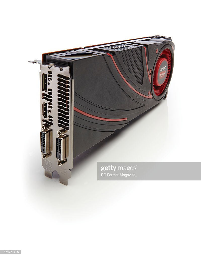 An AMD R9 290 graphics card, taken on October 2, 2014  News