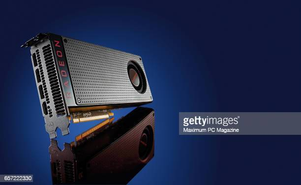 An AMD Radeon RX 480 PC graphics card taken on July 6 2016