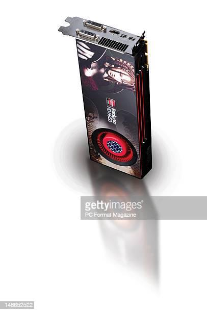 An AMD Sapphire Radeon HD 6950 GPU card taken on April 12 2011