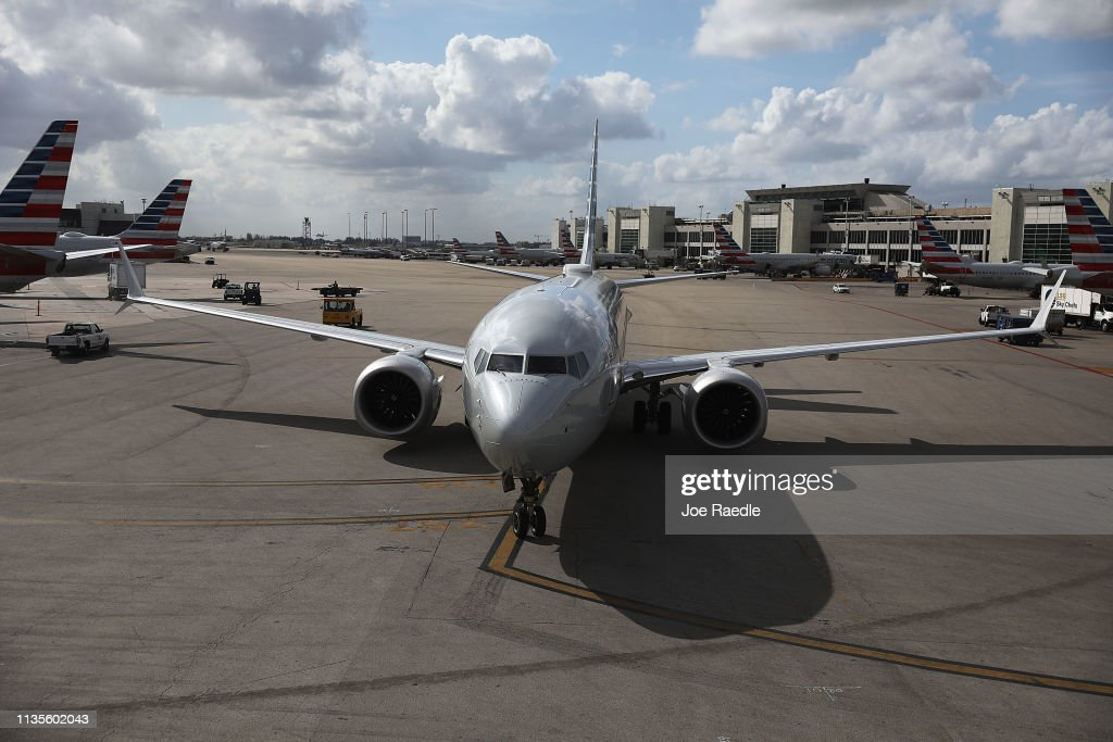 U.S. Grounds All Boeing 737 MAX Aircraft After Viewing New Satellite Data : News Photo
