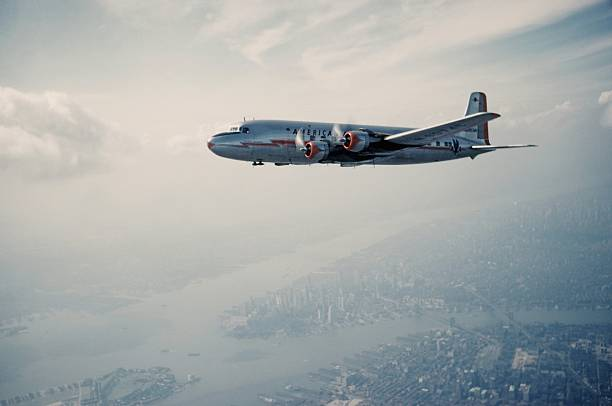 American Airlines Douglas DC-4 Wall Art