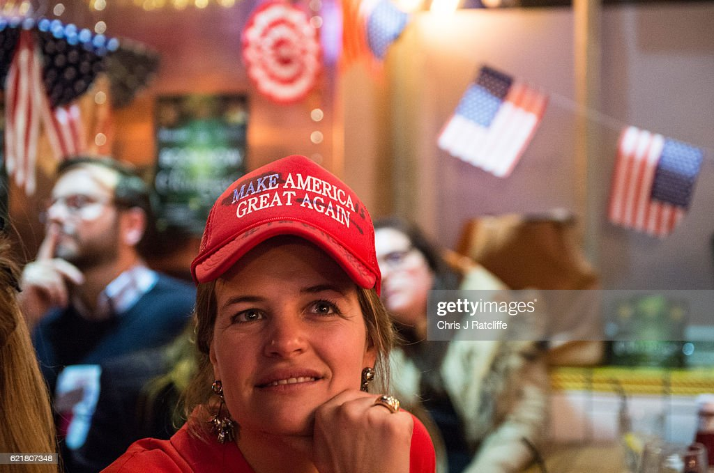 Democrats Abroad Hold US Election Night Party : News Photo