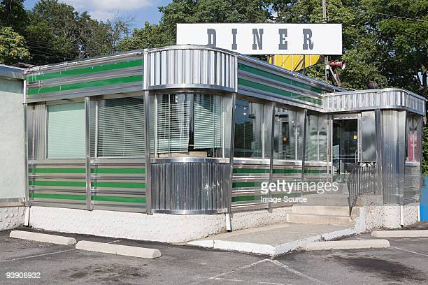 an american diner - diner stock pictures, royalty-free photos & images