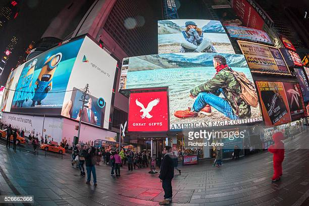 An American Eagle Outfitters store in Times Square in New York on Tuesday November 2 2014 American Eagle Outfitters reported an increase of 4% in...