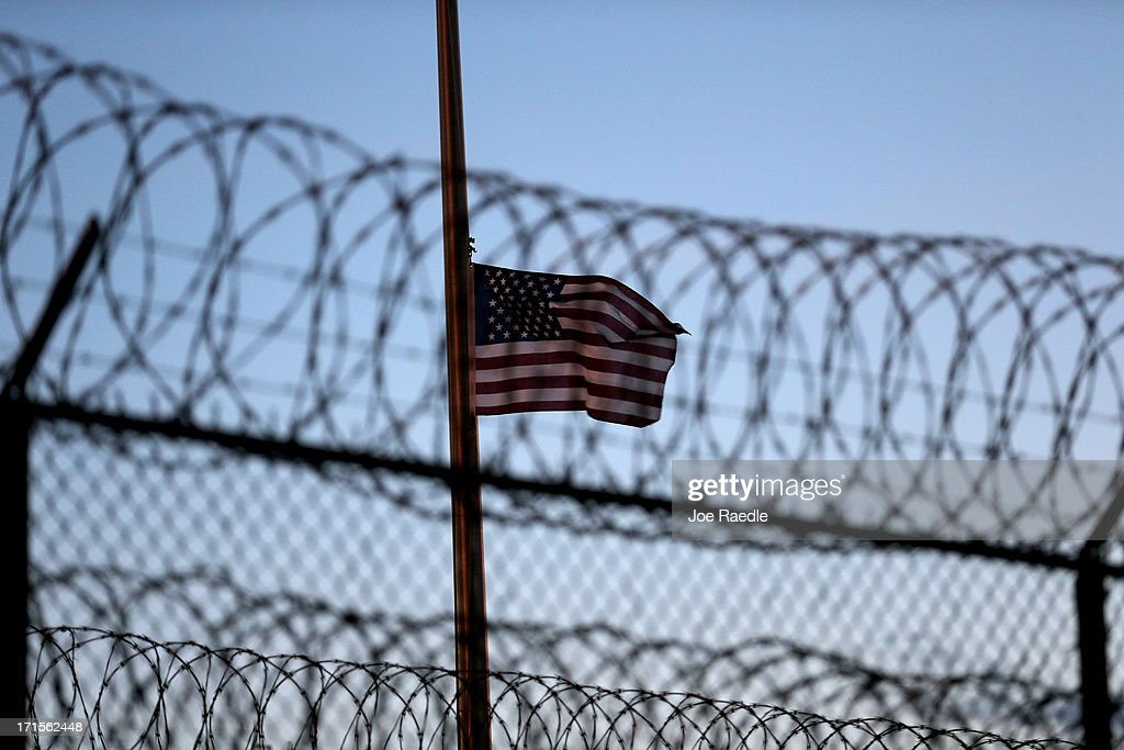 Guantanamo Bay Facility Continues To Serve As Detention Center For War Detainees : News Photo