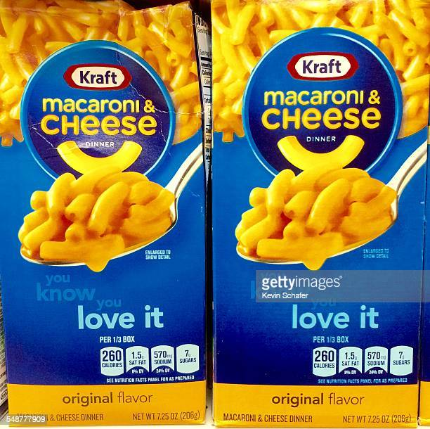An American Icon Kraft brand Macaroni and Cheese in boxes