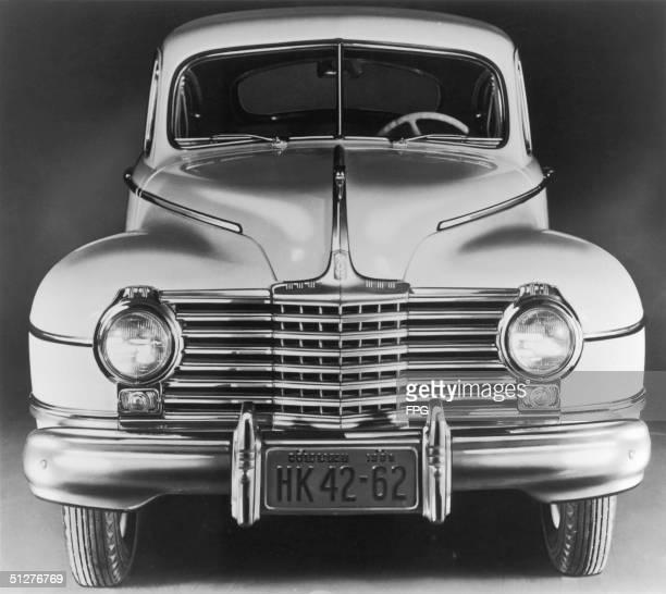 An American saloon car circa 1948