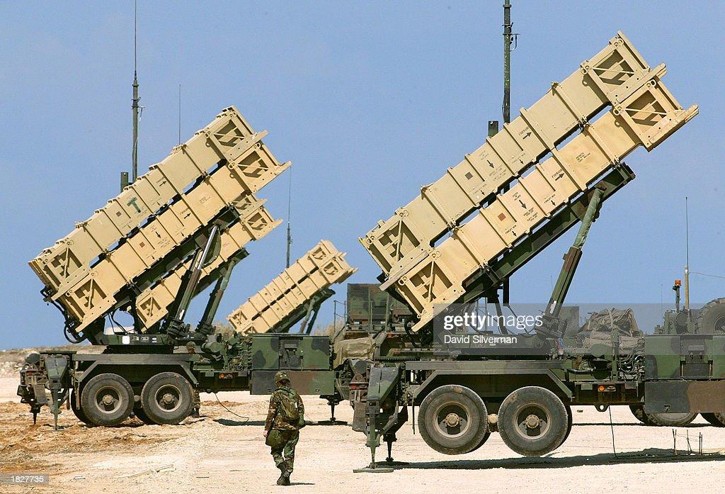 Patriot Missiles Deployed Around Tel Aviv : News Photo