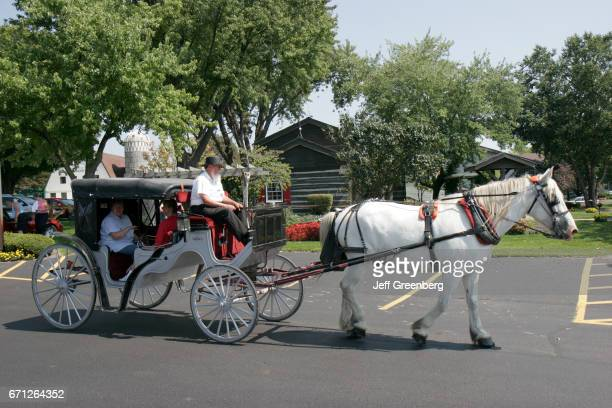 An Amish buggy ride at Das Dutchman Essenhaus