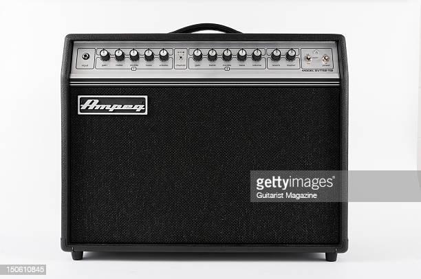 An Ampeg GVT52112 guitar amplifier During a studio shoot for Guitarist Magazine September 23 2011