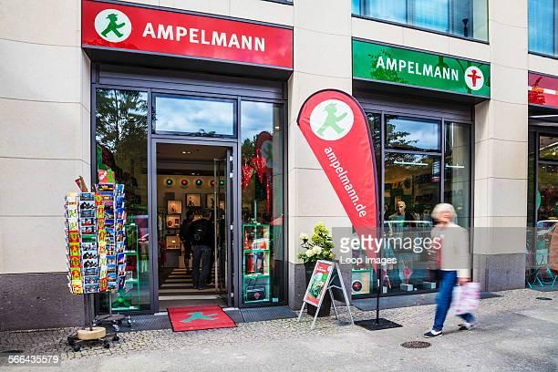 An Ampelmann souvenir shop in Berlin.