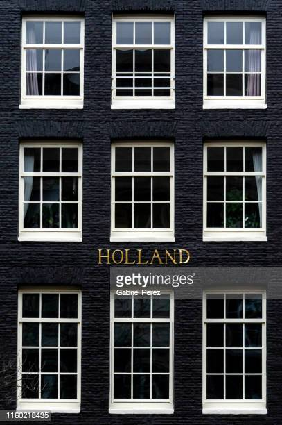 an amsterdam building - amsterdam imagens e fotografias de stock