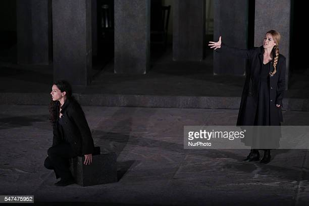 An ancient greek tragedy by Sophocles written in or before 441 BC in the open Garden Theatre in Thessaloniki on 13 July 2016. Starring Nikitas...
