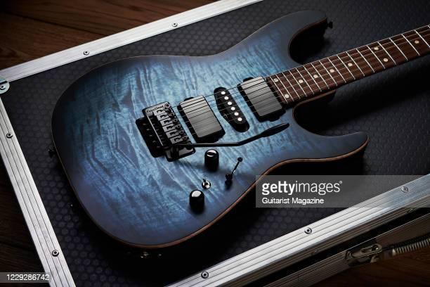 An Anderson Guitarworks Angel electric guitar taken on November 19 2019