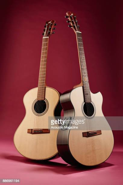 An Andrew White Freja 112 and Andrew White Cybele 1010 electroacoustic guitar taken on March 20 2017