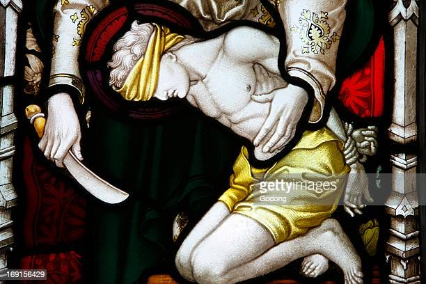 An angel appearing to Abraham and his son XIX th century St John's Anglican church