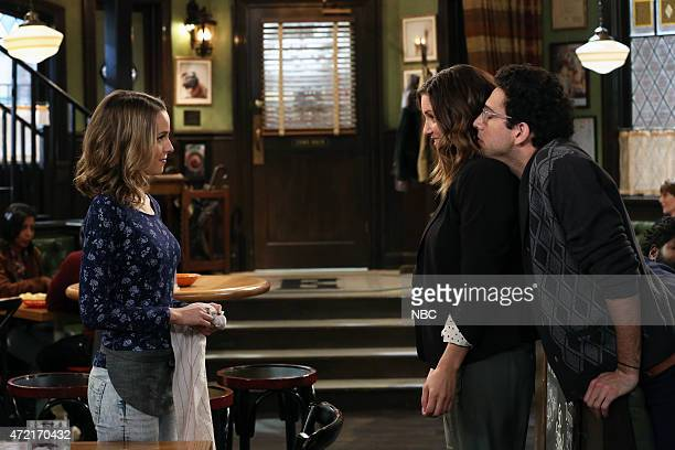 UNDATEABLE An Angry Judge Walks Into A Bar Episode 207 Pictured Bridgit Mendler as Candace Bianca Kajlich as Leslie Rick Glassman as Burski