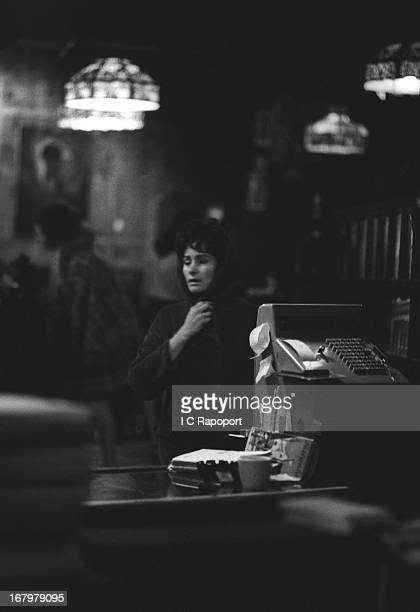 An anguished mother searches for her runaway child in the East Village of New York's Lower East Side circa 1965 in New York City New York