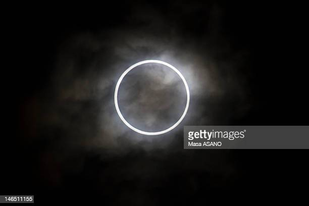 An annular Eclipse in Tokyo