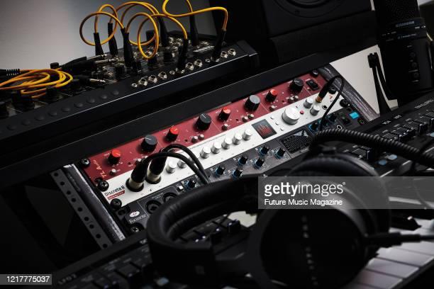 An Antelope Audio Discrete 8 Synergy Core audio interface, taken on August 22, 2019.