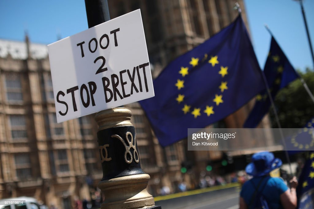 GBR: Stop Brexit Supporters Rally Ahead Of Parliament Voting On Lords' Amendments