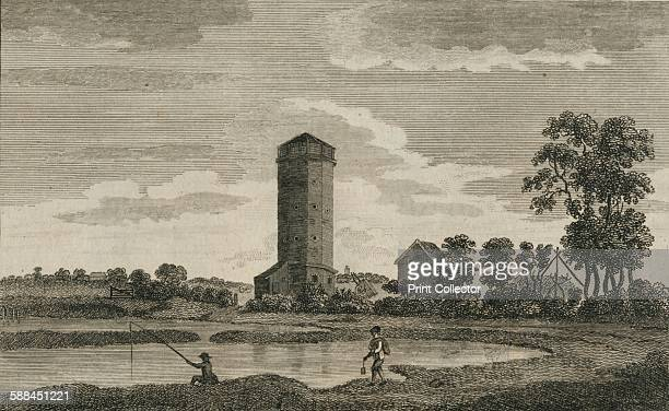 An Antient Water Tower in Hampshire' 1786 From The Antiquities of England and Wales by Henry Boswell Artist Sparrow
