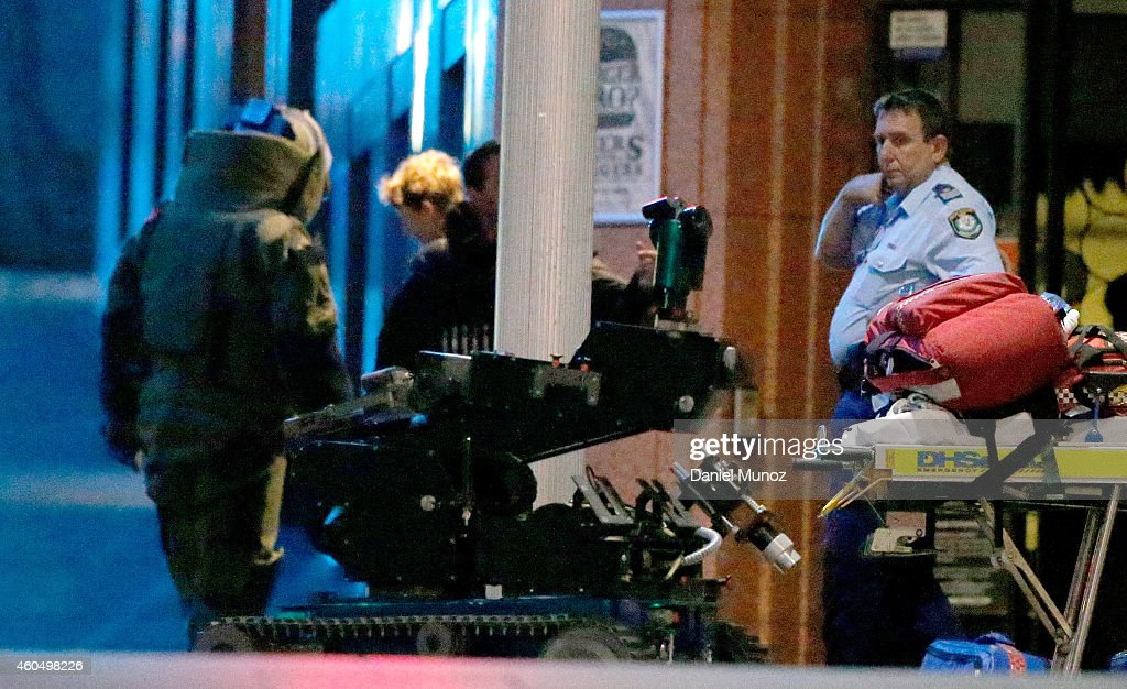 Police Hostage Situation Developing In Sydney : News Photo